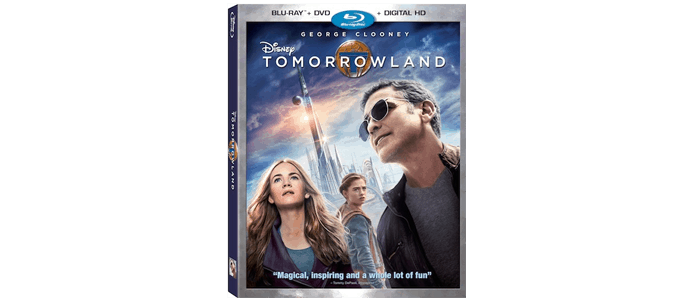 Disney's Tomorrowland on Blu-ray, Digital HD and DMA October 13