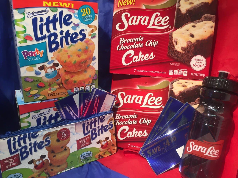 Sara Lee Snacks and Entenmann's Little Bites #Giveaway ends 9/6