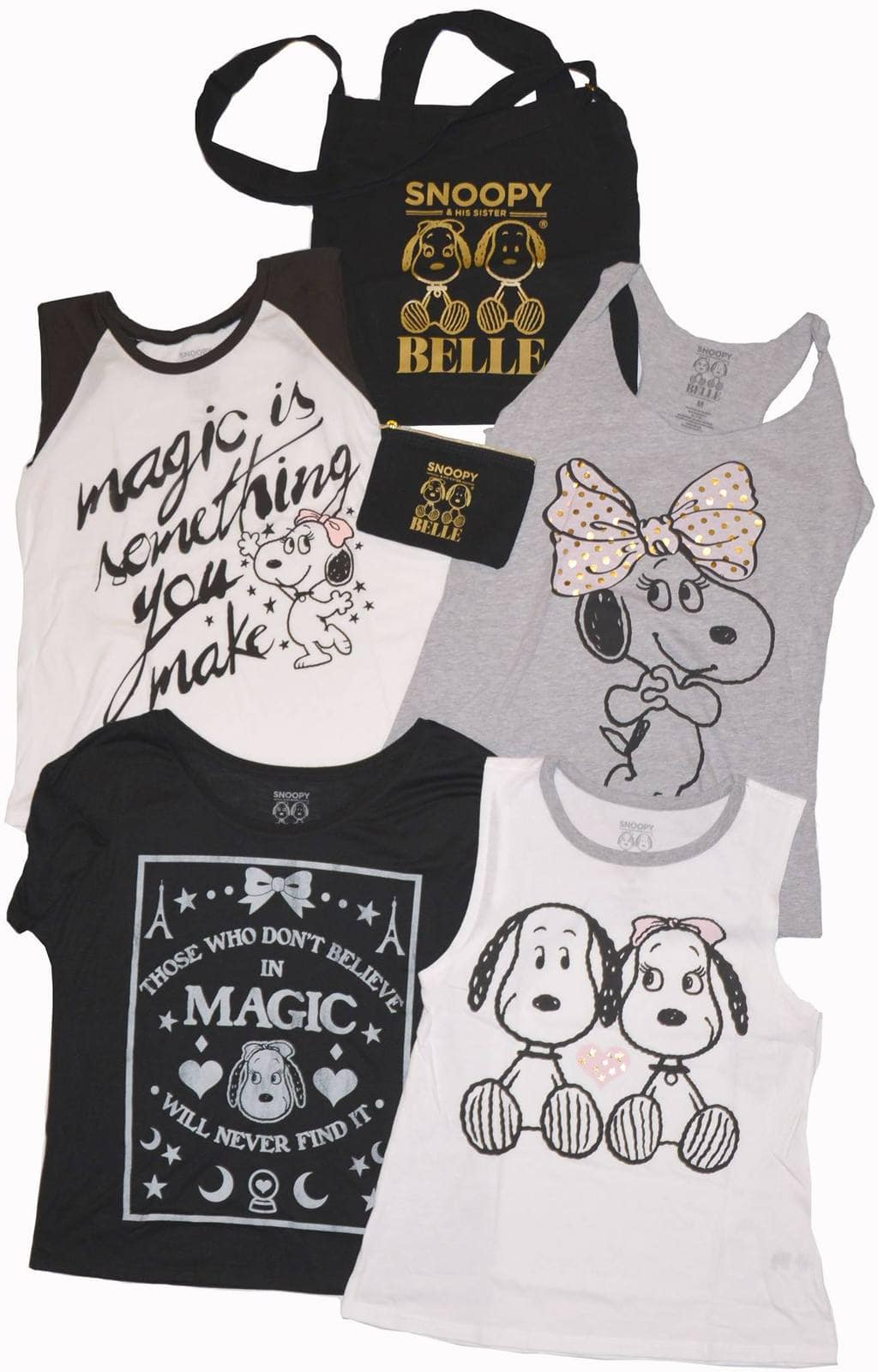 Win A Snoopy and Belle Tote and Tee Set #Giveaway ends 10/