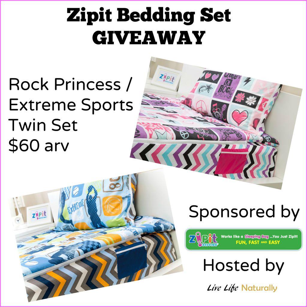 Zipit Bedding Set #Giveaway ends 10/13