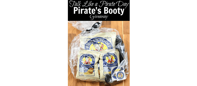 Enter to Win the Pirate's Booty Prize Pack #Giveaway ends 9/26