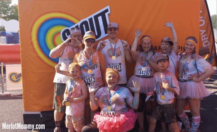 Color Run Fun {Recap} #ShoutItOut