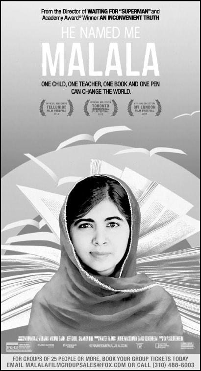FREE MOVIE: He Named Me Malala October 7 in Portland