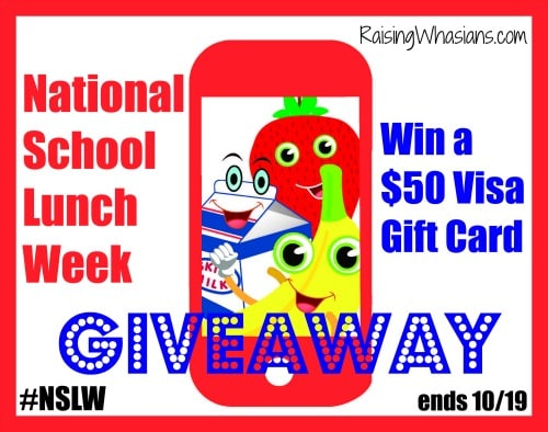Enter to Win a $50 Visa gift card #Giveaway ends 10/19