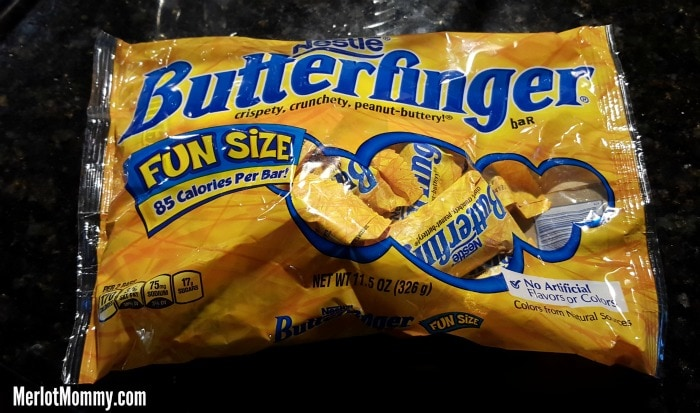 Nestlé Halloween #Treats4All at Walmart + Fudge Brownie BUTTERFINGER Cups Recipe