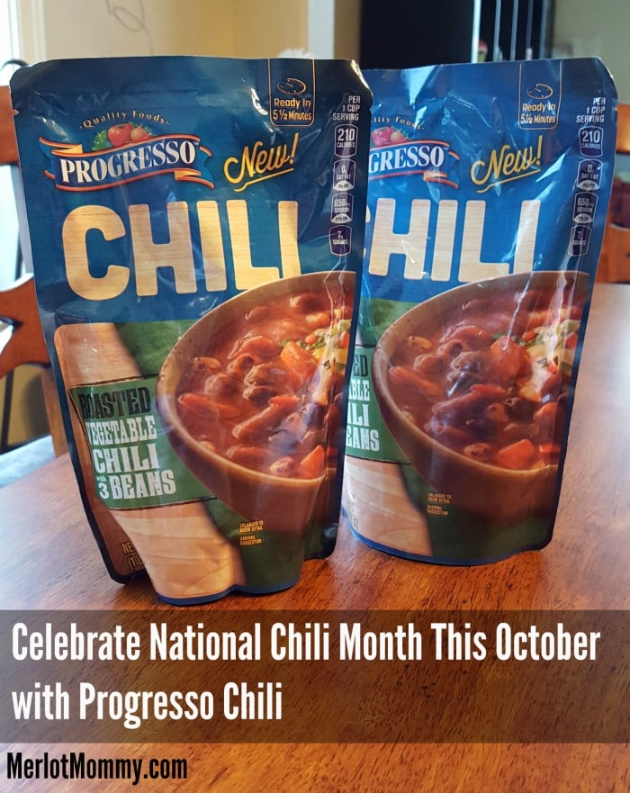 Celebrate National Chili Month This October with Progresso Chili #ProgressoChili #NationalChiliMonth