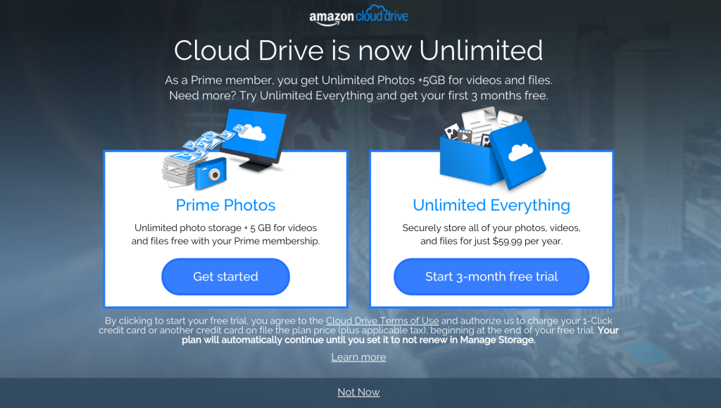 Back Up Your Files with Amazon Cloud Drive