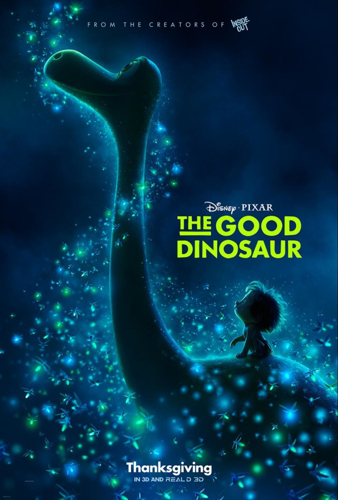 New Trailer, Poster, and Images For Disney/Pixar's THE GOOD DINOSAUR Are Now Available