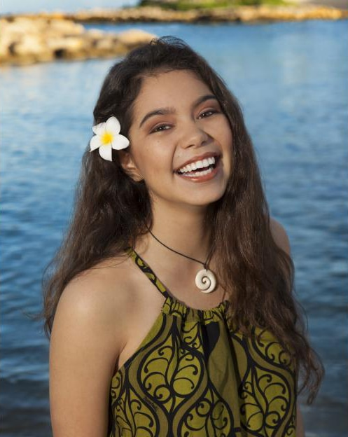 First Look: Disny's MOANA Finds Her Voice #Moana