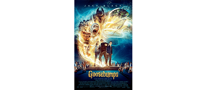 FREE MOVIE: Goosebumps October 14th in Portland