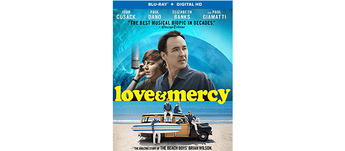 Bring Home Love & Mercy On Blu-Ray/DVD and Learn About Brian Wilson and the Beach Boys