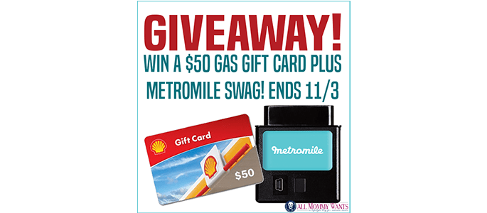 Enter to Win a $50 Gas Card #Giveaway ends 11/3