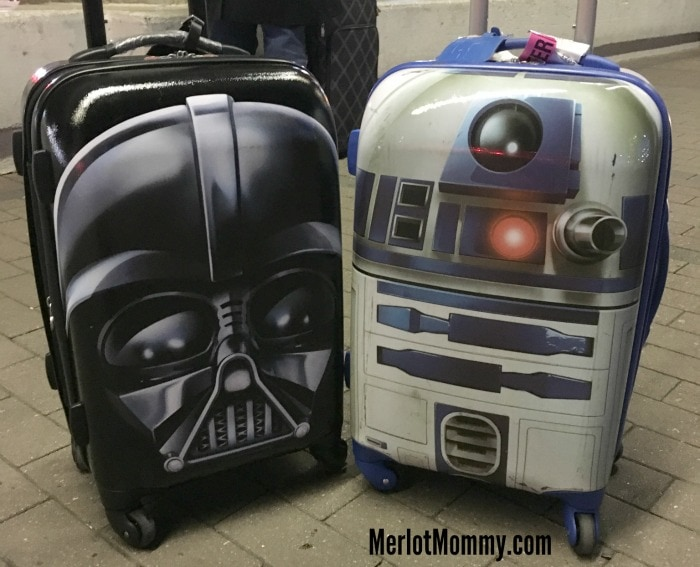 Disney Star Wars Luggage from American Tourister for Intergalactic Travel Fun