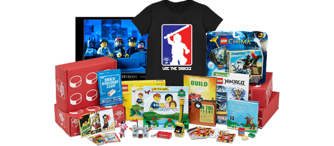 BrickSwag LEGO Subscription Box for LEGO Fans