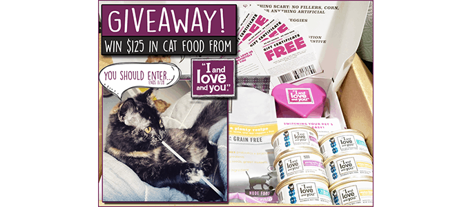 I And Love And You Giveaway ends 11/28