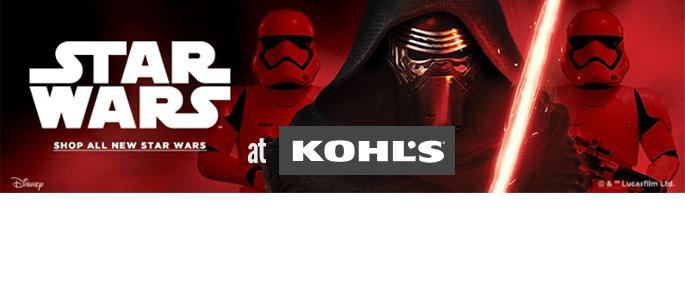 Get Your Star Wars Fix at Kohl's #ForceForKohls #StarWars