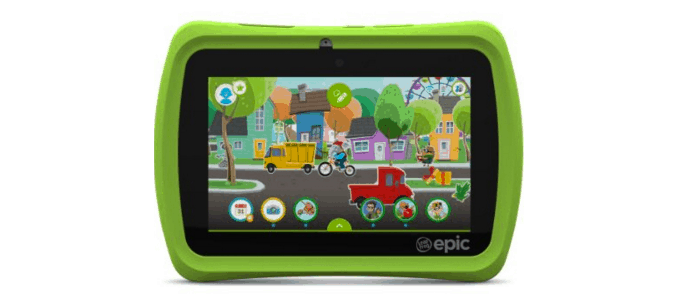 LeapFrog Epic Grows and Changes with Your Kids