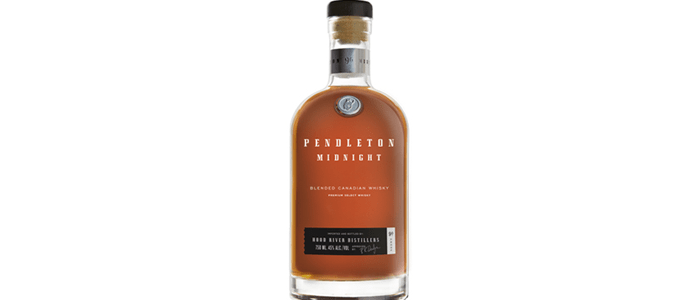 Hood River Distillers Pendleton Midnight Canadian Whisky