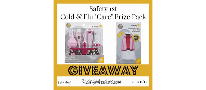 Enter the Safety 1st Care Prize Pack Giveaway ends 11/13