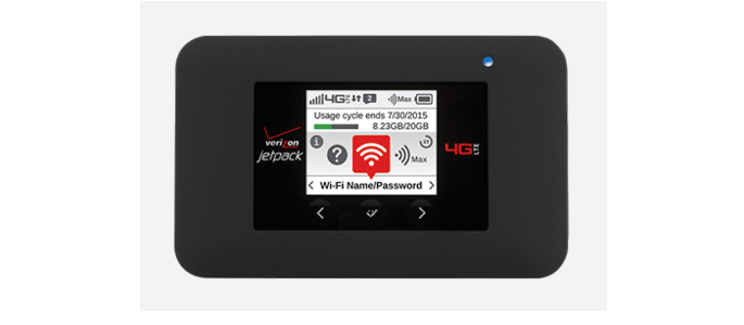 Travel with the Verizon Jetpack 4G LTE Mobile Hotspot from NETGEAR