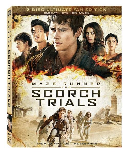 Maze Runner: Scorch Trials #Giveaway ends 12/20