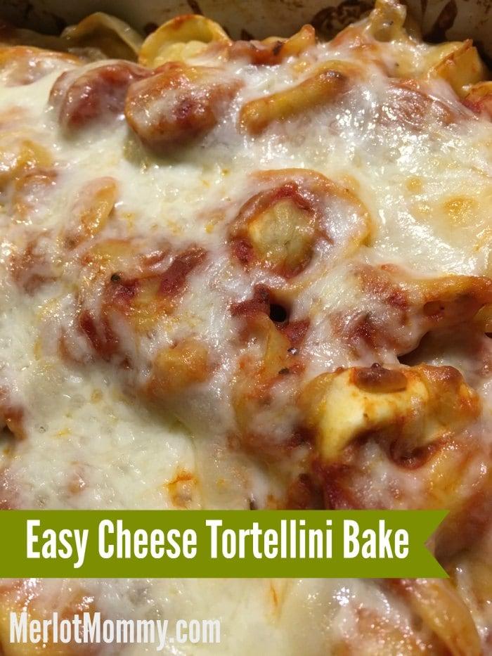 20-Minute Easy Cheese Tortellini Bake