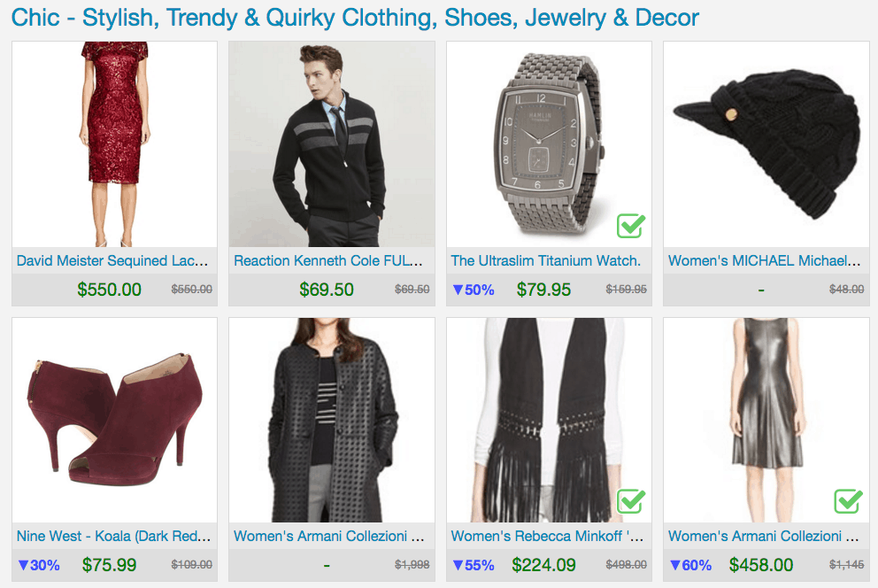 Holiday Shopping on One Innovative Shopping Site