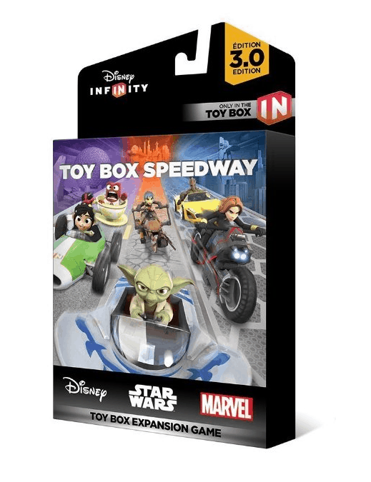 The Toy Box Speedway: Kart Racing Game