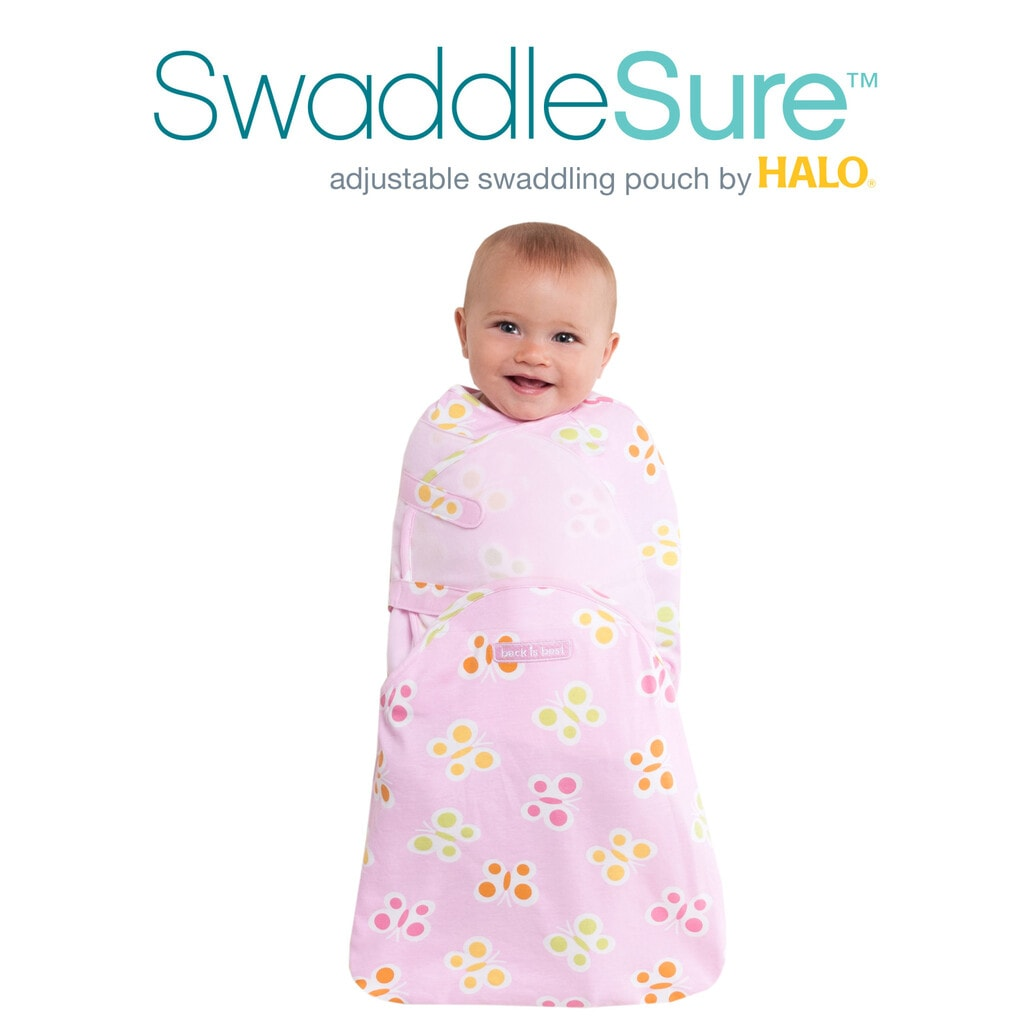 SwaddleSure Adjustable Swaddling Pouch by HALO