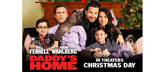 Celebrate the Holiday Season with Daddy's Home