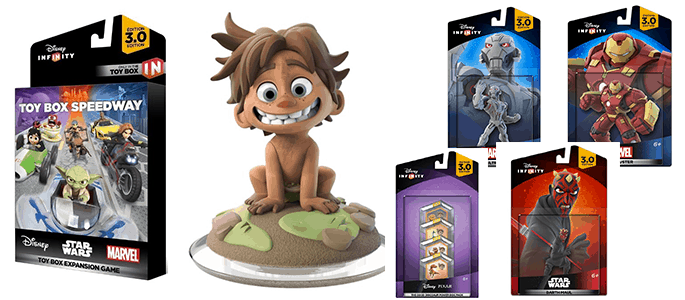New Disney Infinity 3.0 Toy Box Speedway Expansion and Characters Just in Time for the Holidays