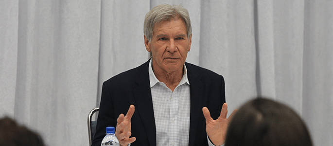 Exclusive Interview: Harrison Ford Talks Han Solo and Star Wars