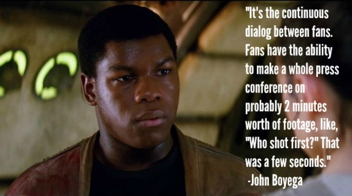 John Boyega: Storming to Galactic Fame, Exclusive Interview with Finn