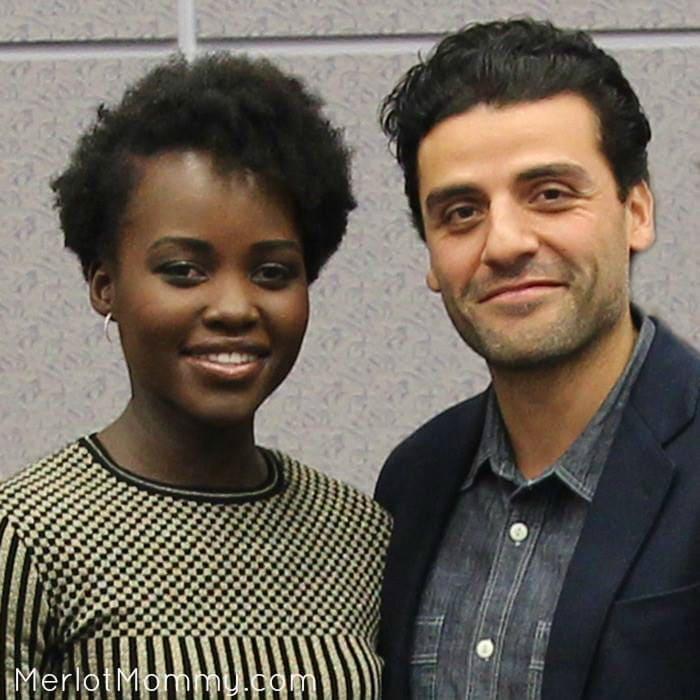Lupita Nyong'o and Oscar Isaac Talk Star Wars in Exclusive Interview