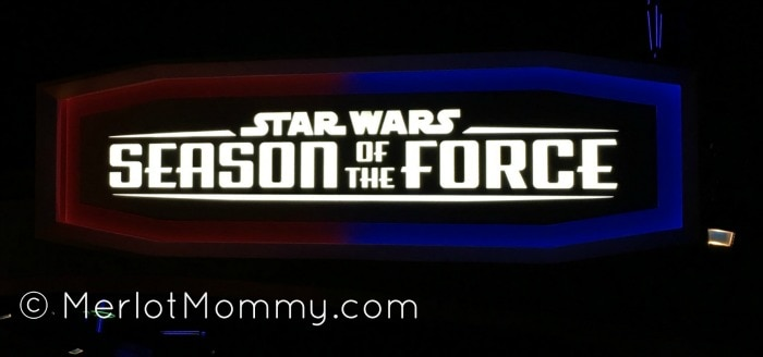 Star Wars Season of the Force at Disneyland