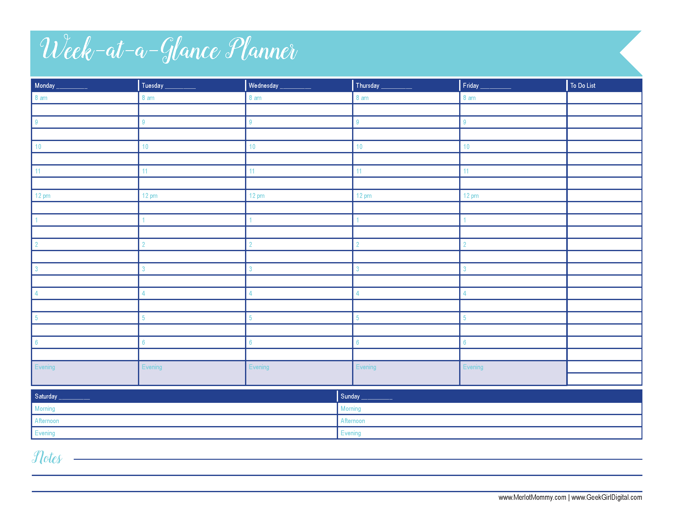 Printable Weekly Planner Calendars Calendar Template Concept Lovely