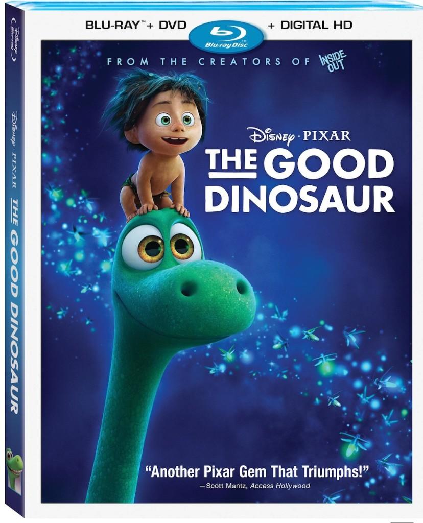 Disney/Pixar's THE GOOD DINOSAUR on Blu-Ray/DVD Feb. 23