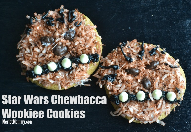 Star Wars Chewbacca Wookiee Cookies