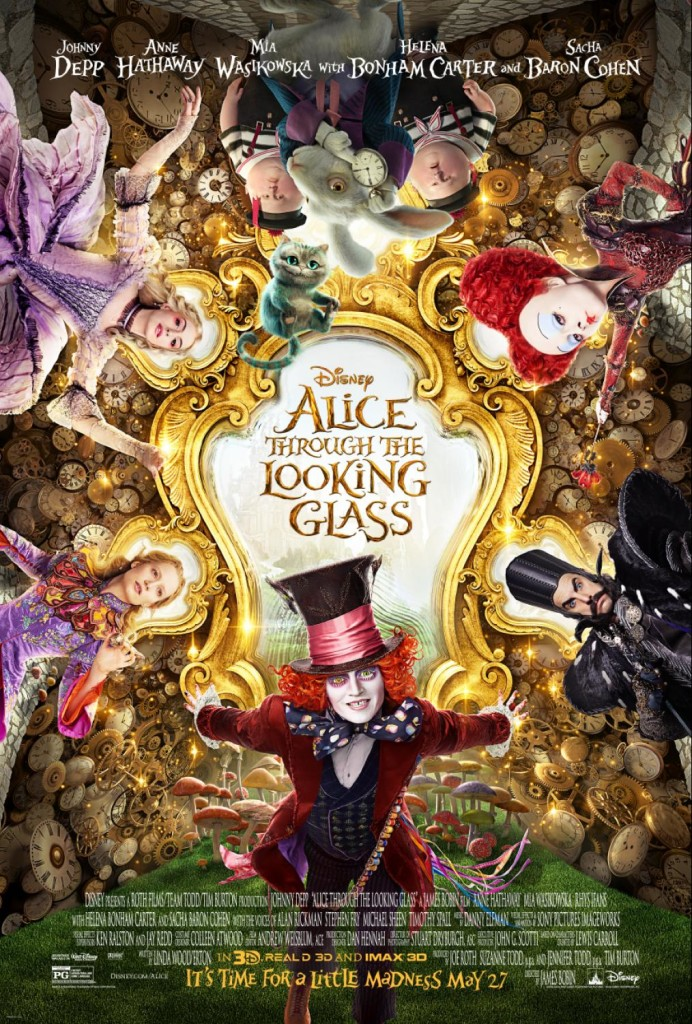 P!nk To Partner With Disney's ALICE THROUGH THE LOOKING GLASS + New Poster