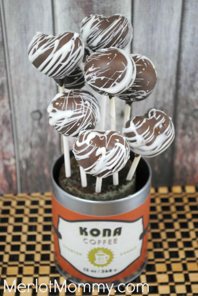 Kona Coffee Cake Pops