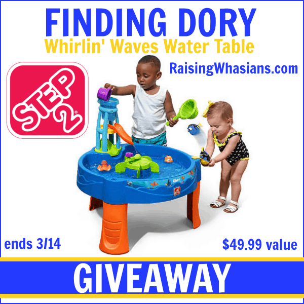 Step2 Finding Dory Whirlin' Waves Water Table Giveaway ends 3/14