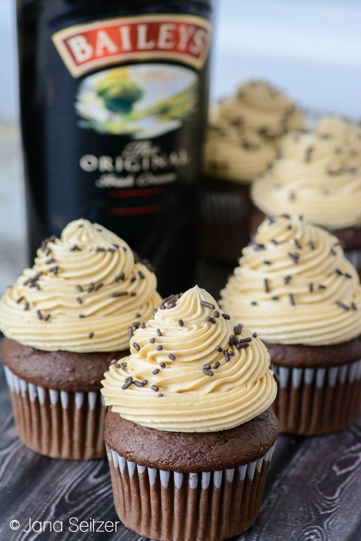 baileys irish cream cupcake