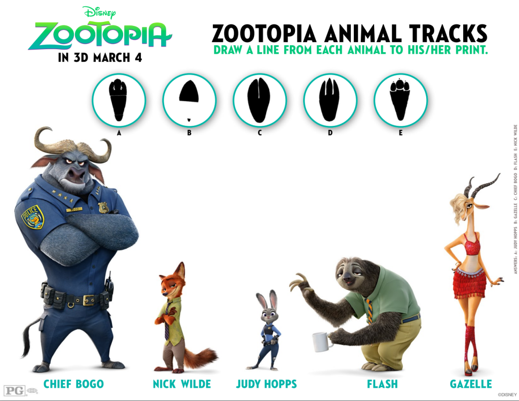 Zootopia Coloring Pages and New Clips