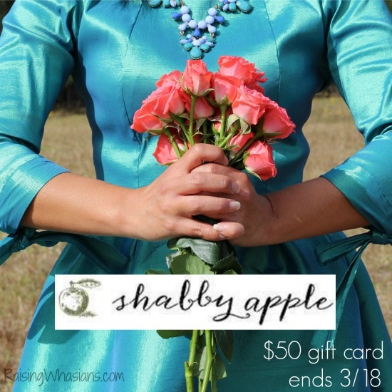 Enter to win a $50 Shabby Apple Gift Card