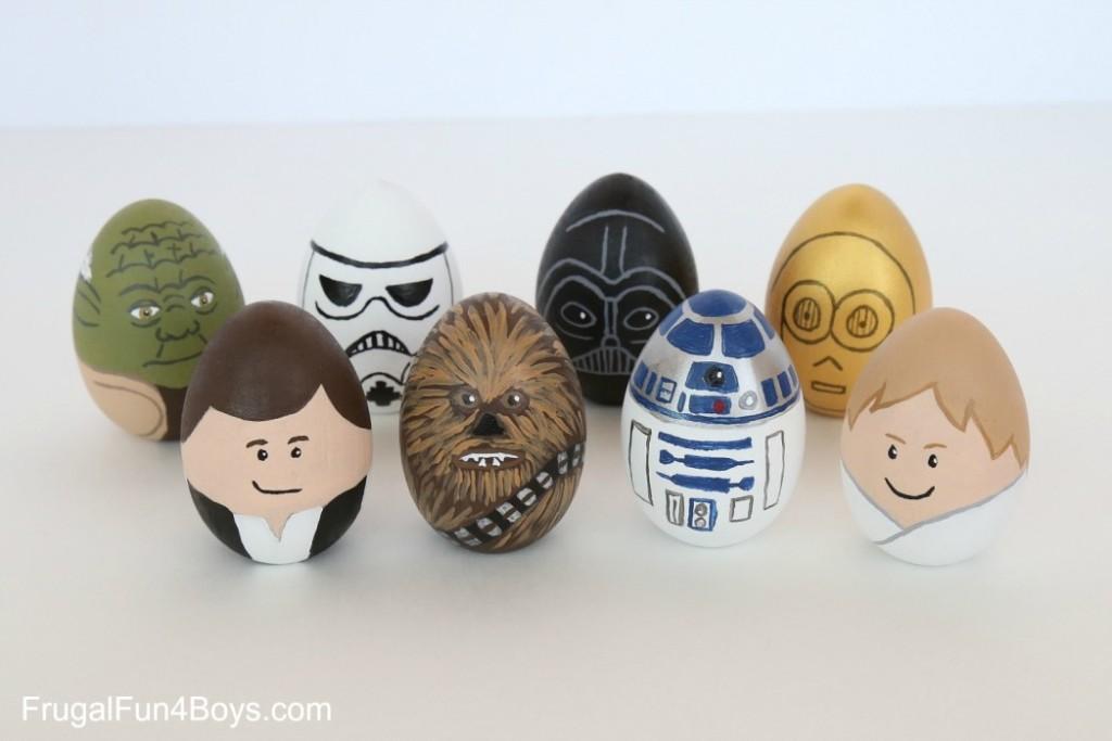 nerdy eggs star wars