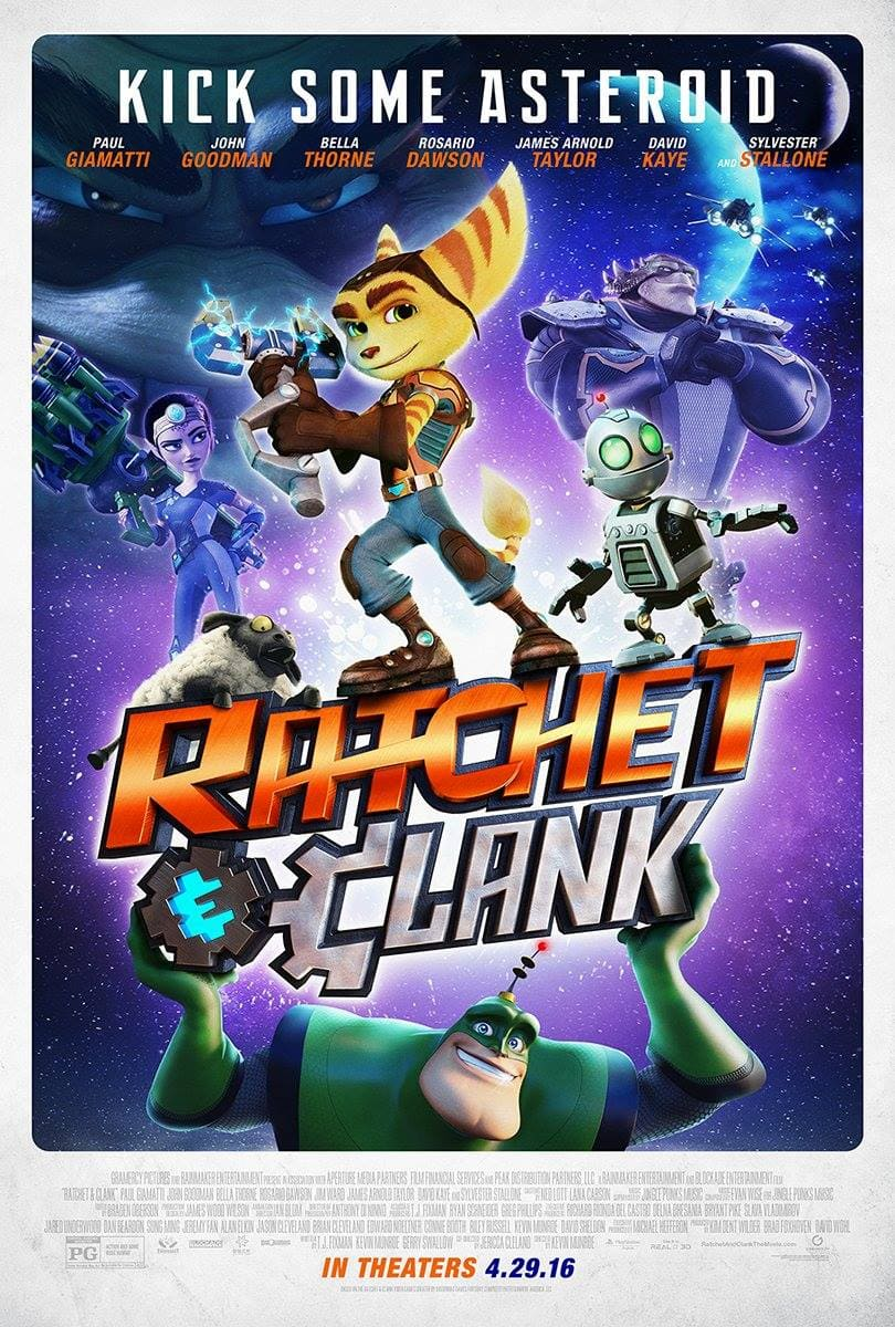 Follow Me at The Ratchet and Clank Press Event April 8 + 9