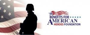 Benefits for American Heroes Foundation Giveaway