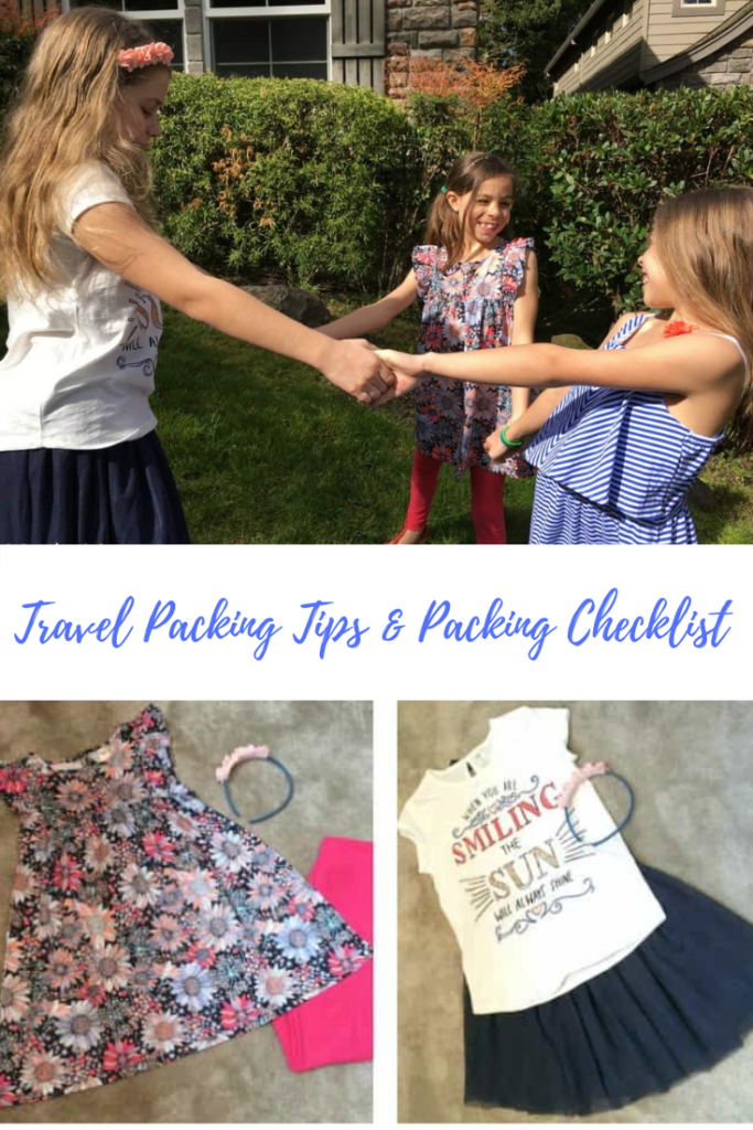 Travel Packing Tips and Packing Checklist