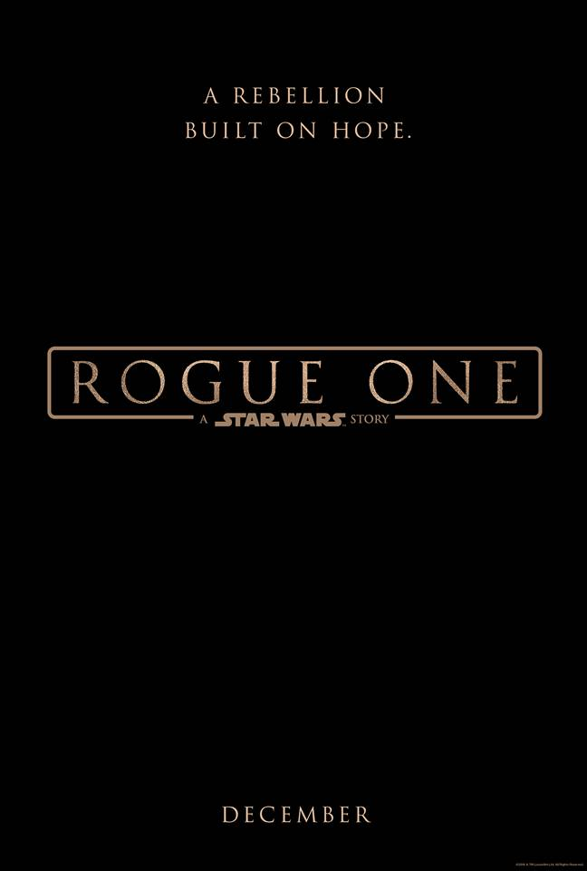 First Look: Rogue One: a Star Wars Story Teaser Trailer