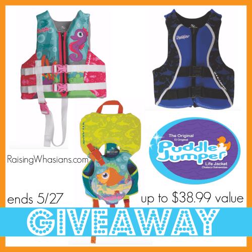 Puddle Jumper Life Vest Giveaway